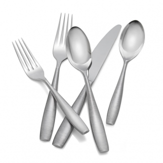 Fiona 5 Piece Place Setting, Stainless Steel