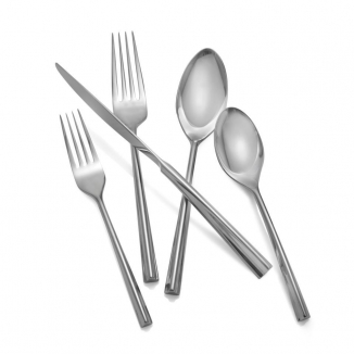 TRI-Corner 5 Piece Place Setting, Stainless Steel