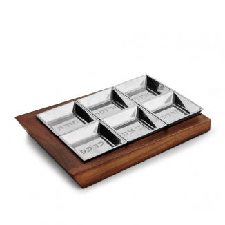Geo Seder Plate