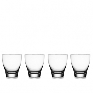 Vie Double Old Fashioned Glasses (Set of 4)
