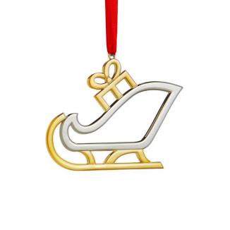 Santa's Sleigh Ornament
