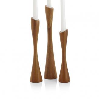 Grove Candlesticks (set of 3)