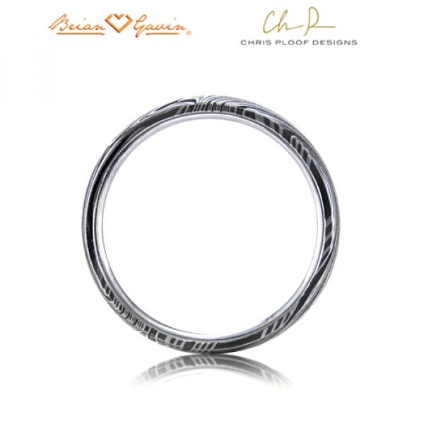 Kona Wedding Rings Chris Ploof Damascus Steel Kona Men39s Wedding Bands Ds Kona