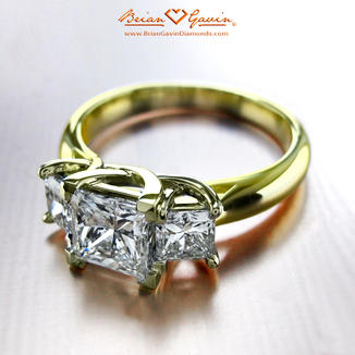Trellis for Princess Cuts 18K Yellow Gold 7100a77a3b