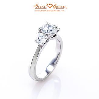 Diana 3 Stone Engagement Ring