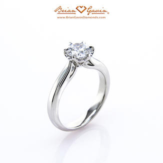 Olympus Collection of Engagement Rings from Brian Gavin Diamonds