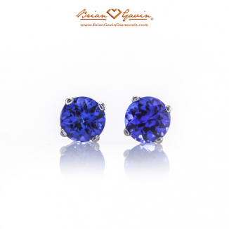 Image result for Round Tanzanite 1.08 ctw