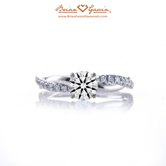 629fd68eea4dd9 Pave Diamond Rings | Antique Engagement Rings with Sidestones